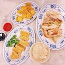 Love their tender chicken & fried tofu!
