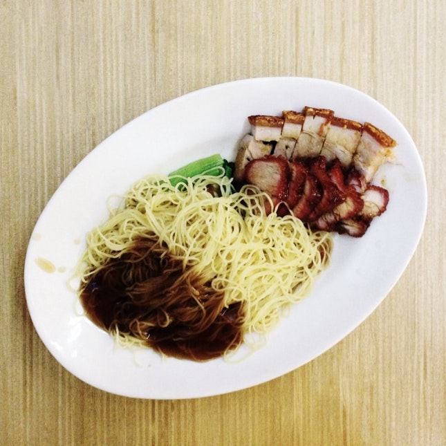 Roast Pork + Char Siew Noodles