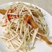 Bean Sprouts with Crispy Fish