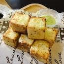 Garlic Golden Toast with additional Garlic Butter Dip