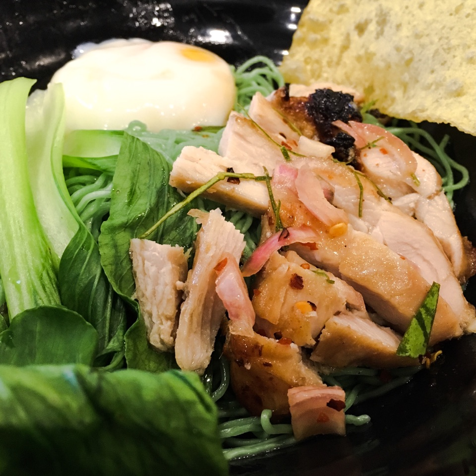 Double Grill Chicken Jade Noodle
