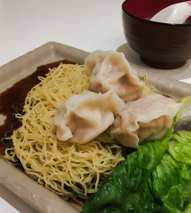 Dumpling Noodles - Dry