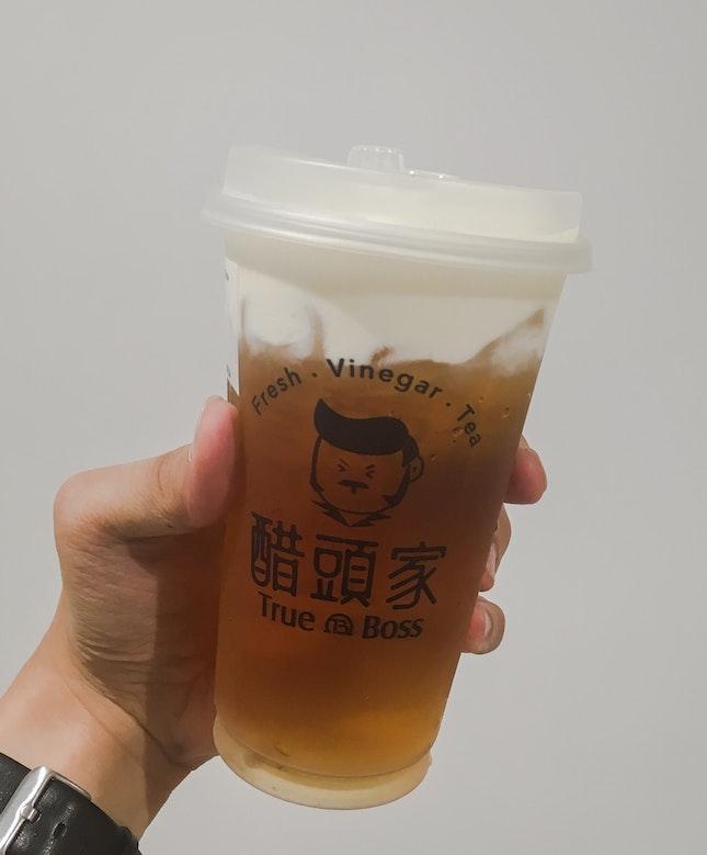 Cheese Milk Foam LUGU Oolong Tea