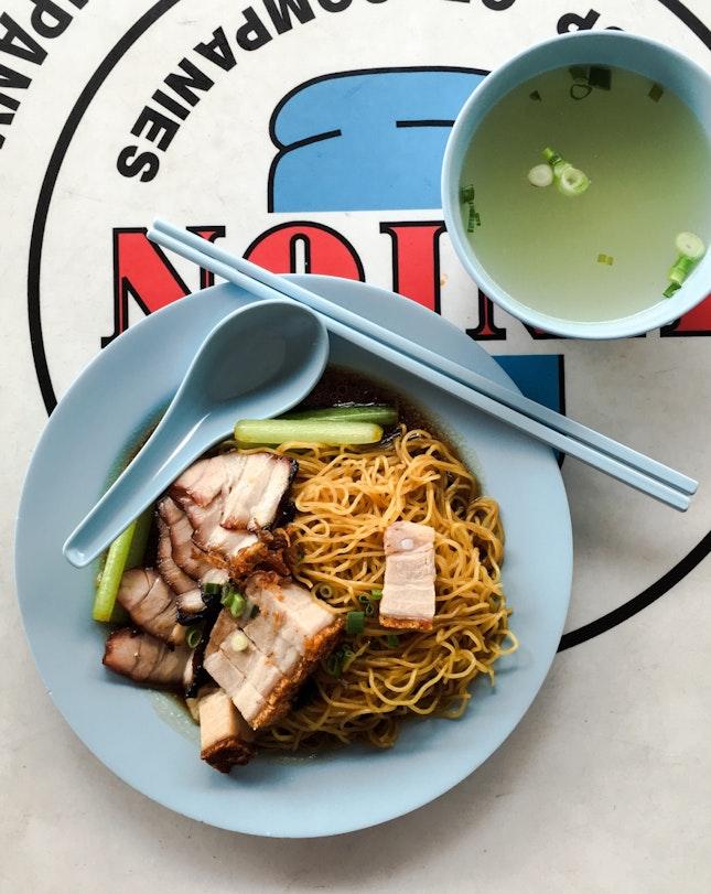 Char Siew + Roast Pork Noodles