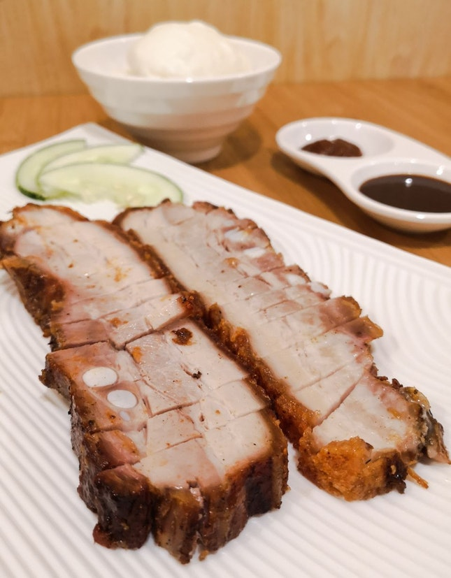 Roasted Pork Set with Mantou