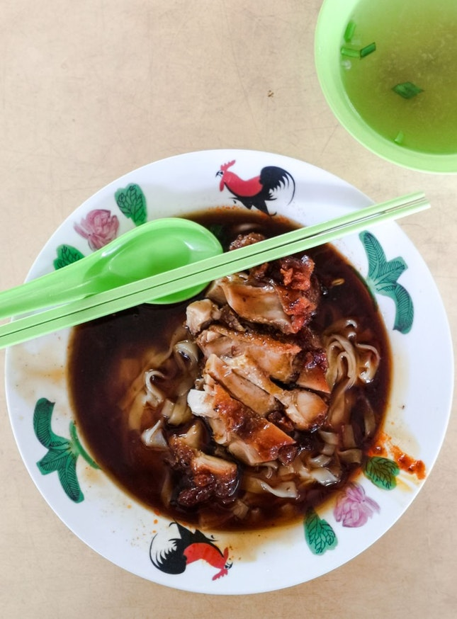 Chicken Chop Ipoh Hor Fun