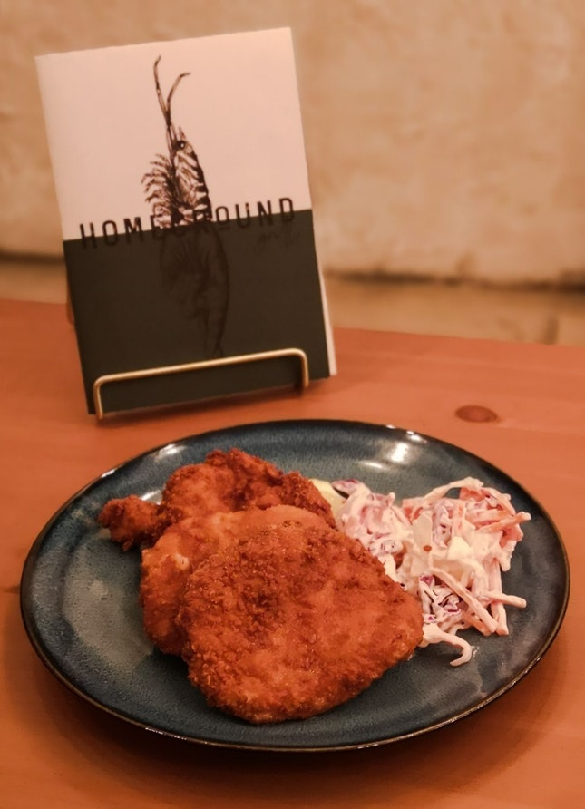 Deep Fried Pork Chop