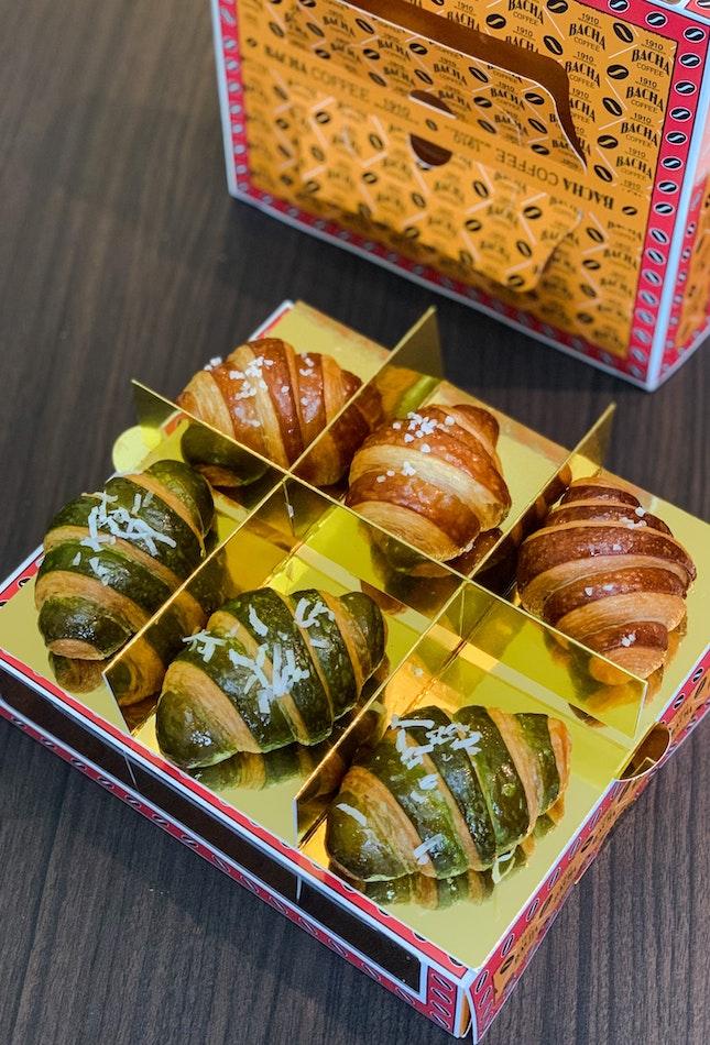 Almond Coffee Croissant, Kaya Croissant