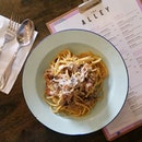 Can't say no to Truffle Carbonara when it's just one buck?!