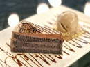 {Chocolate Fudge Cake with Chocolate Ice Cream}  Hope you all had a sweet ending to this weekend!