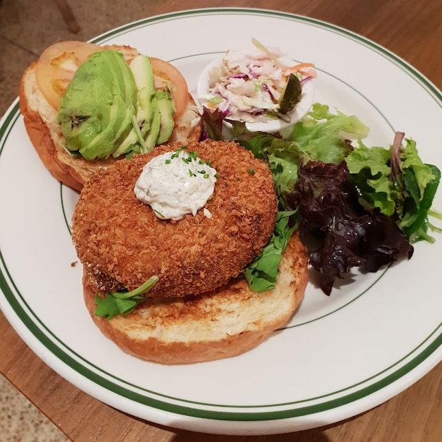 Salmon Burger [$23++]