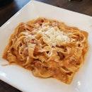 Fettucine Beef Bolognese [$24]