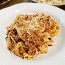 Gennaro's Tagliatelle Bolognese [$29.95++]