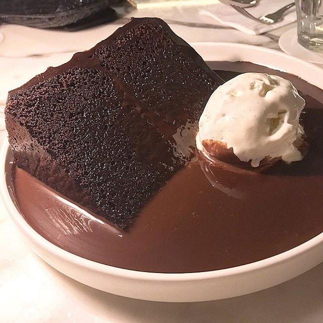 Double Chocolate Blackout Cake.