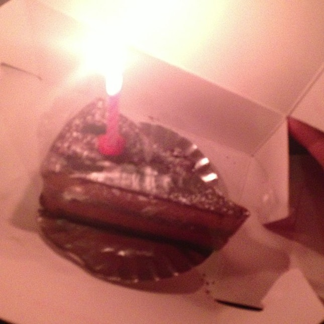 Super late #malma88birthdaybash still got cake for me to eat!
