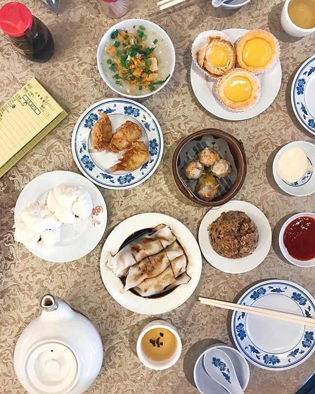 Dim Sum situation this morning