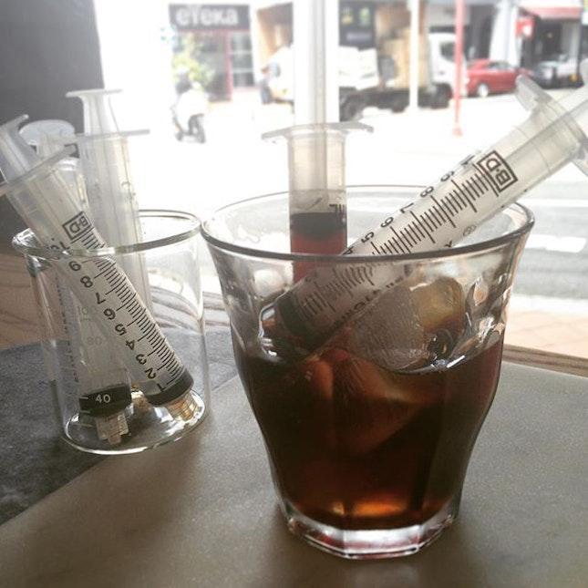 Cold brew shots ($5)
