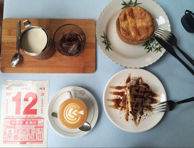 Old Provision Shop Turned Old School Cafe