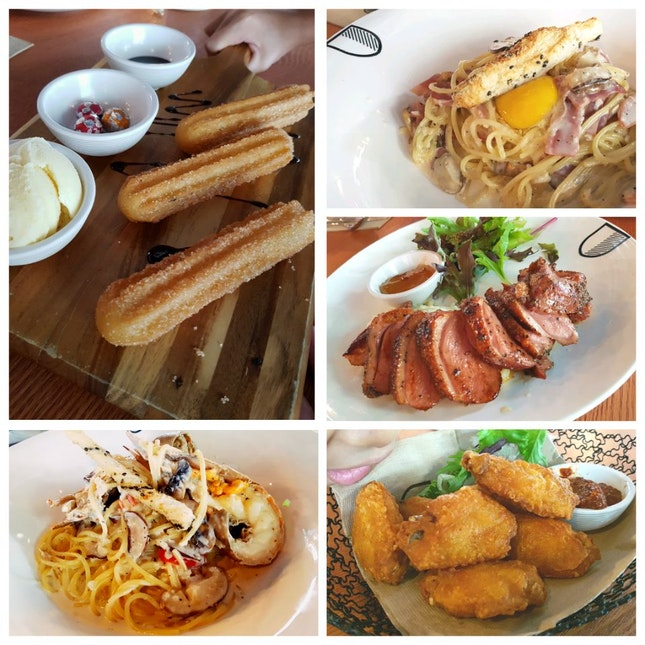 Yummy Food At Cozy Cafe