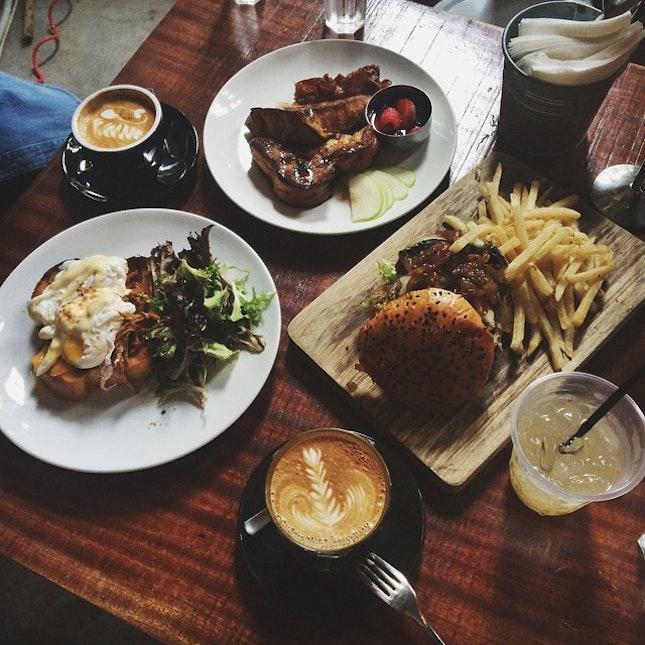Comfort food 😺🍴☕️