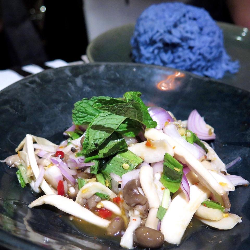 Mushroom Salad [$14.90]