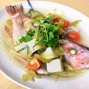Steamed Fish Teochew Style [Price Varies]