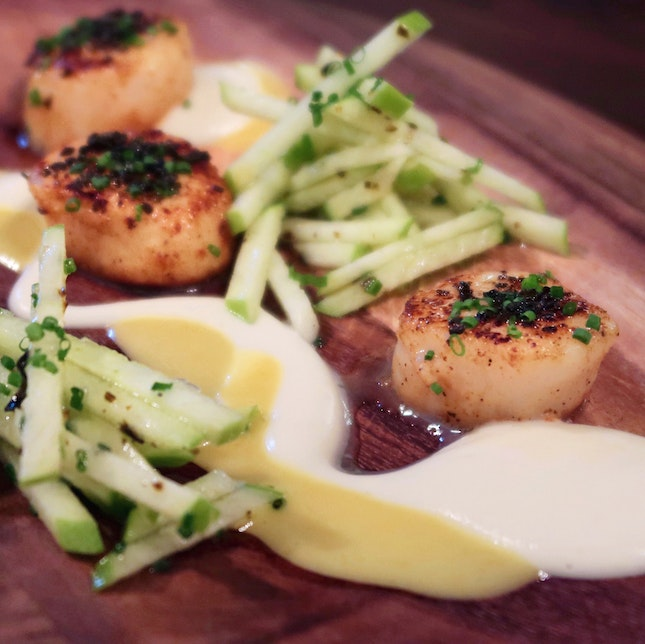 Pan Seared Scallops [$19]