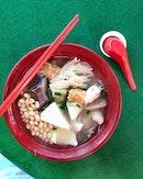 Yong Tau Foo [$4.20 for 6 Pieces + Noodles]