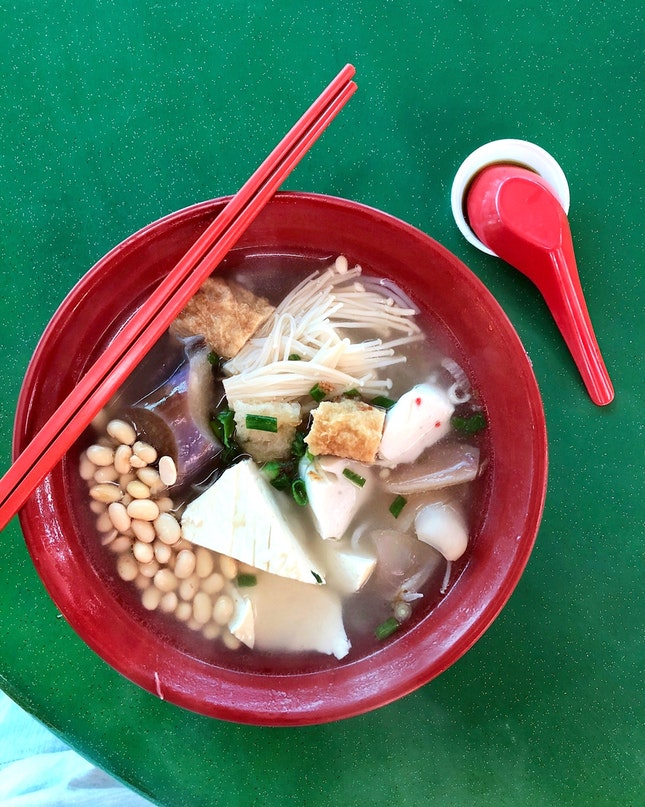 Yong Tau Foo [$4.20 for 6 Pieces + Noodles]