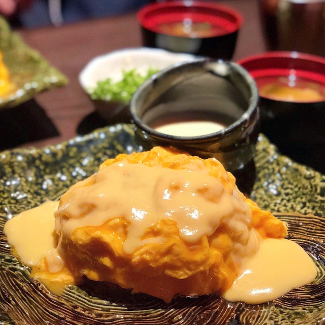 Omurice & Cheese Sauce Topping [$9.90 + $2]