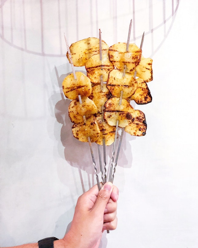 Potato Slice 土豆片 [$1.20]