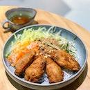Bun Canh Ga 酥脆鸡凉拌米线 [$7.80]