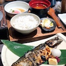 Charcoal Grilled Mackerel Set [$14.90]