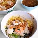 Prawn Noodle Dry [$4.50]