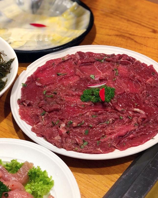 Marinated Mutton [$16]