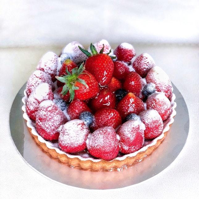 Strawberry Tart [$48]