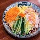 Hiyashi Chuka Spicy [$12]