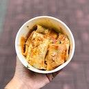 烤冷面 Grilled Cold Noodles [$4]