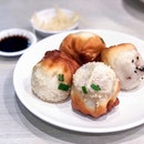Dingtele Pan-Fried Buns Platter 生煎双拼 [$7.30]