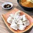 酸菜猪肉水饺 Sauerkraut Pork Dumplings [$7 for 12]