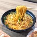 玉米温面 Corn Noodles [$7]