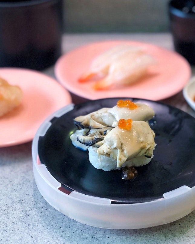 Oyster Sushi [$3]