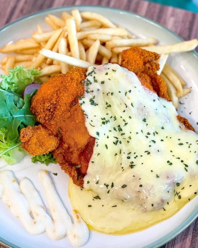 Chicken Parmigiana [$11.90]