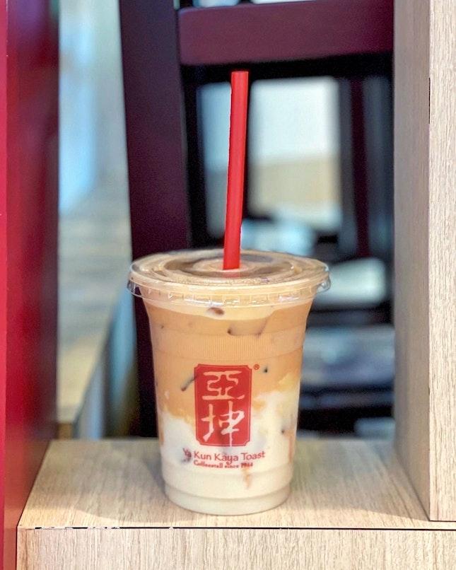 Iced Soya Tea [$3.20 for Regular]