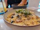 Truffle Bacon Mushroom Pasta