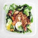 Barbecued Pulled Pork Salad