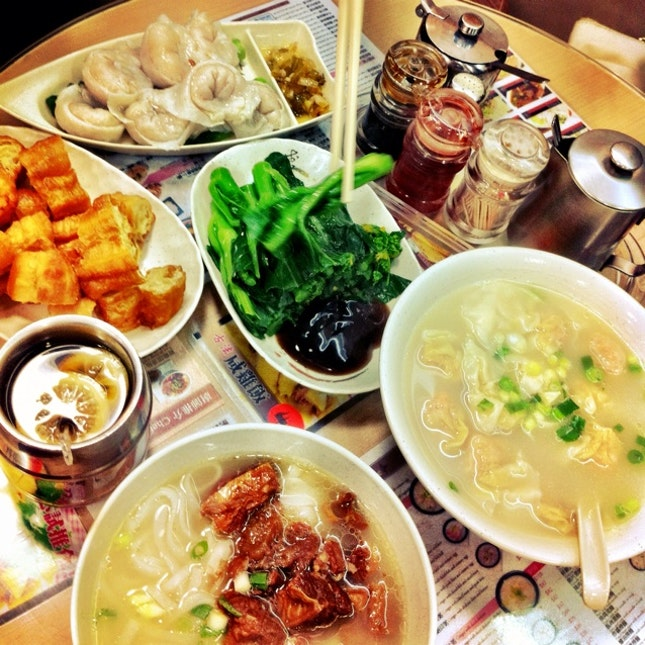 Typical HK breakfast