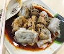 I'm a real sucker for 红油抄手 Dumplings in Vinegar and Chilli Oil.