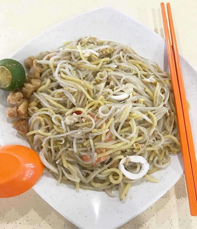 Tried out the Hokkien Mee at Block 46 which is a pretty good second option to my Block 6 Hokkien Mee.