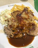 This chicken chop was pretty decent and even provides buzzer service (so you don't have to stand and wait).
